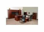 Legend Veneer Executive Office Furniture / Home Office Furniture Collection