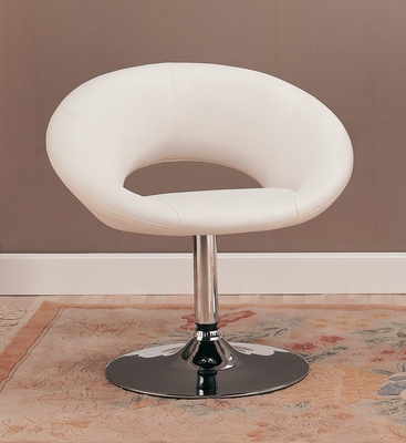Leisure Chair in White - Coaster - 120353