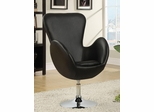 Leisure Swivel Chair in Black - 902100