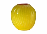 Lemon Drop  Broad Vase - Dale Tiffany