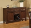 Lenox Server in Medium Brown - Coaster - 102165