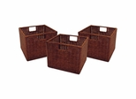 Leo Wired Baskets Set of 3 - Winsome Trading - 92310
