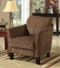 Leopard Jungle Accent Chair - 900403