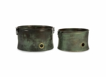 Leva Copper Verdigris Hose Holder (Set of 2) - IMAX - 44132-2