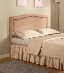 Lewis Queen Upholstered Tan Headboard - 300367Q
