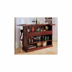 "Lexington 72"" Home Bar in English Tudor - American Hertiage - AH-600011ET"