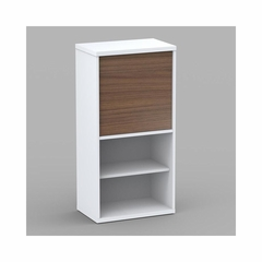 Liber-T 1 Door Bookcase with 4 Shelves - Nexera Furniture