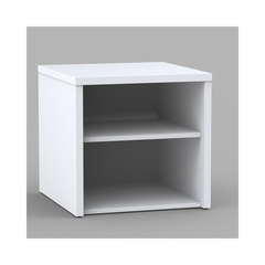 Liber-T Open Media Storage Unit - Nexera Furniture