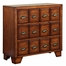 Light Brown 3-Drawer Console with Antique Pewter Pulls - Powell Furniture - 725-220