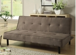 Light Brown Microfiber Sofa Bed - 300239