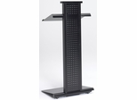 Lighted Lectern in Black - Mayline Office Furniture - 1050LTBLK