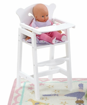 Lil' Doll High Chair - KidKraft Furniture - 61101