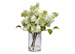 Lilac Silk Flower Arrangement - Nearly Natural - 4805