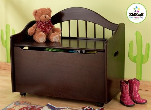 Limited Edition Toy Box in Espresso - KidKraft Furniture - 14156