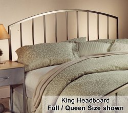 Lincoln Park Eastern King Size Metal Headboard - 274-66