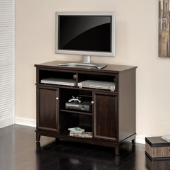 Linden Court Highboy TV Stand Mahogany - Sauder Furniture - 411337