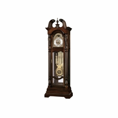 Lindsey Cherry Bordeaux Floor Clock - Howard Miller