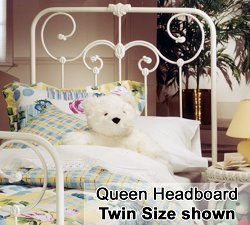 Lindsey Queen Size Metal Headboard - 277-51