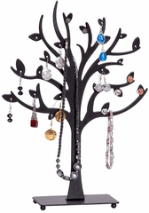 Lisa Metal Tree Jewelry Stand in Black - 11062
