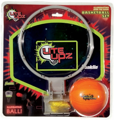 LITE UPZ Illuminating Foam Basketball - Franklin Sports