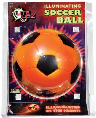 LITE UPZ Illuminating Foam Soccer Ball - Franklin Sports
