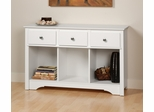 Living Room Console Table in White - Prepac Furniture - WLC-4830