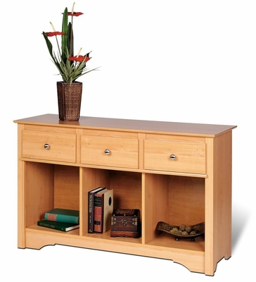 Livingroom Console in Maple - Sonoma Collection - Prepac Furniture - MLC-4830