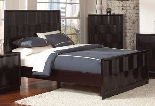Lloyd King Bed in Dark Cappuccino - 202641KE