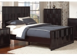 Lloyd Queen Bed in Dark Cappuccino - 202641Q