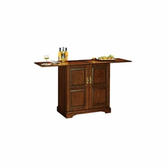 Lodi Portable Wine and Bar Cabinet in Americana Cherry - Howard Miller