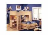 Loft Bed in Natural Maple - South Shore Furniture - 2713-LBED