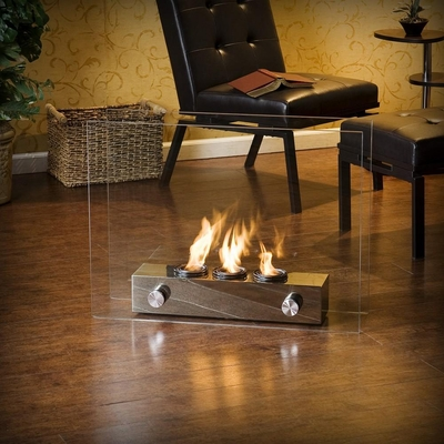Loft Portable Indoor / Outdoor Fireplace - Holly and Martin