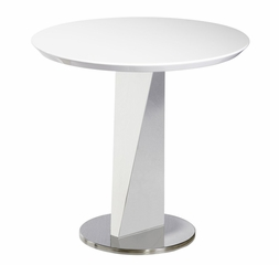 Lola End Table - Bellini Modern Living - LOLA-WHT
