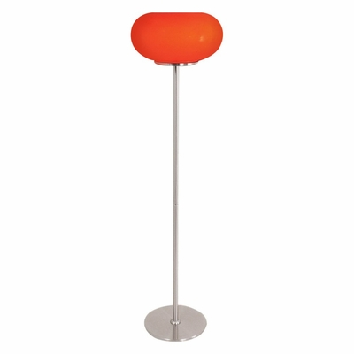 Lollipop Floor Lamp in Red - Lumisource - LS-LOLLIPOP-R