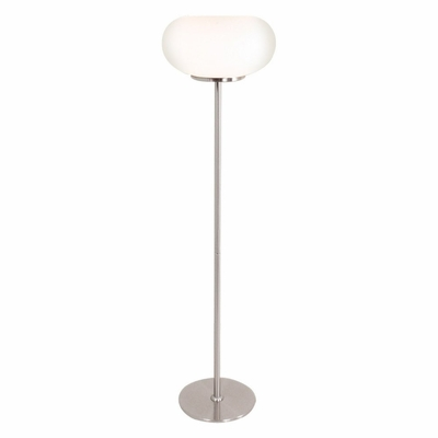 Lollipop Floor Lamp in White - Lumisource - LS-LOLLIPOP-W