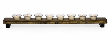 Long Gold Votive Stand - IMAX - 12291
