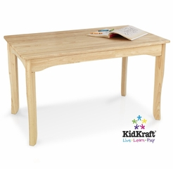 Long Oslo Table in Natural - KidKraft Furniture - 26929
