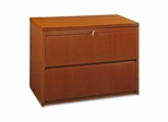 Lorell 2-Drawer Lateral Filing Cabinet in Cherry - LLR88016