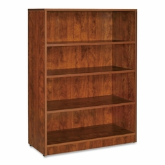 Lorell 4-Shelf Cherry Bookcase - LLR69499