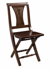 Loreto Folding Chair - Hillsdale Furniture - 63752