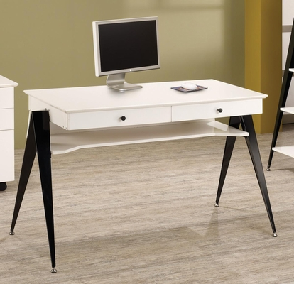 Lori Contemporary Two Drawer Computer Desk - 801061