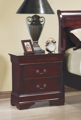 Louis Philippe 2 Drawer Night Stand - 203972