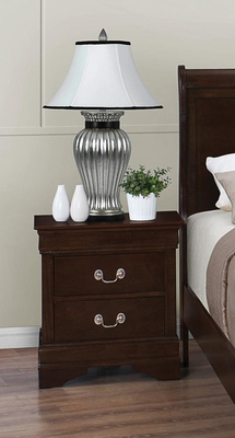 Louis Philippe 202 Nightstand with 2 Drawers - 202412