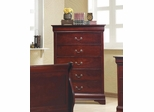Louis Philippe 5 Drawer Chest - 203975