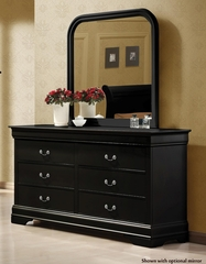 Louis Philippe 6 Drawer Dresser - 203963
