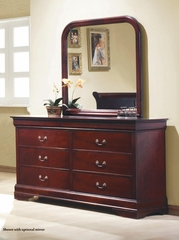 Louis Philippe 6 Drawer Dresser - 203973