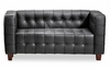 Love Seat - Button Love Seat - Zuo Modern - 900210