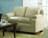 Loveseat in Buff Microfiber - 9840BF-2