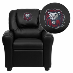 Loyola Marymount University Lions Embroidered Kids Recliner - DG-ULT-KID-BK-41050-EMB-GG
