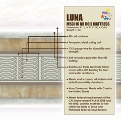 Luna Crib Mattress - DaVinci Furniture - M5311C